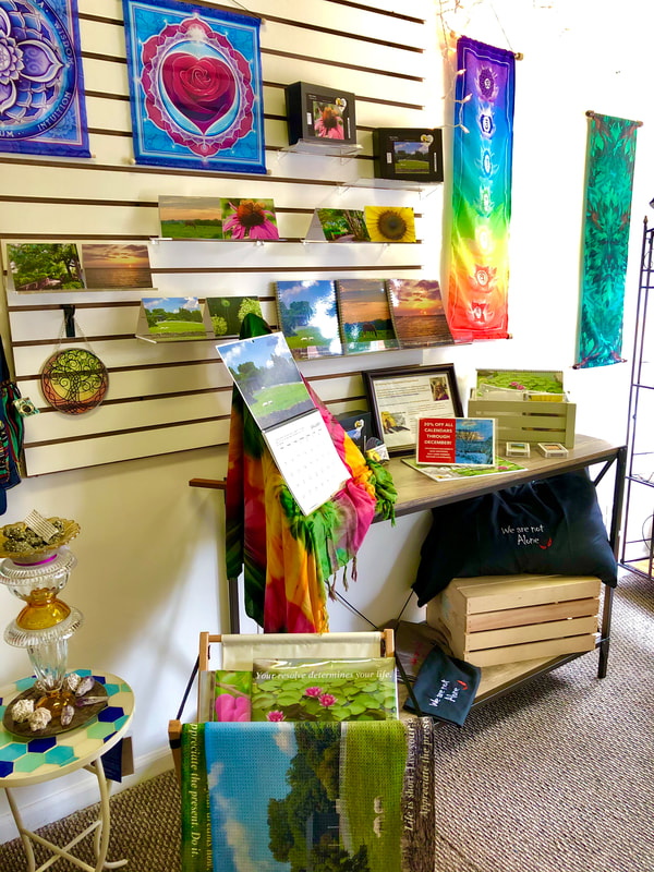 YourCreativeChord's Nature Products display at Wicked Glass & Wanderlust Designs, 234 W. Main St, Frankfort, Kentucky ​859-693-4426