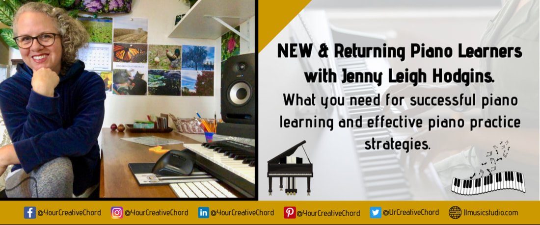 New & Returning Piano Learners Facebook Group with pianist, composer Jenny Leigh Hodgins